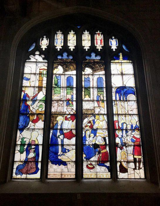 St Mary's Church, Fairford,Lady Chapel